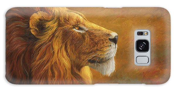 Lion Galaxy Case - The King by Lucie Bilodeau