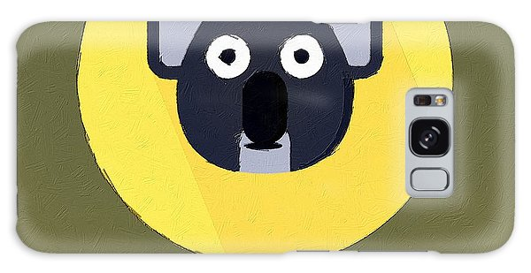 The Koala Cute Portrait Galaxy Case by Florian Rodarte