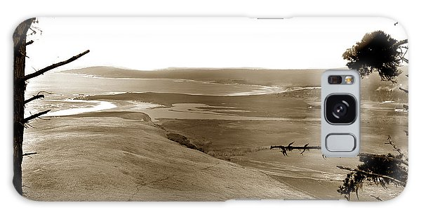 The Lagoon At The Mouth Of The Carmel River  From Fish Ranch California 1905 Galaxy Case