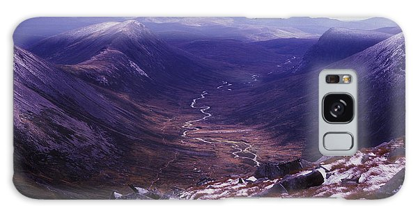 Galaxy Case - The Lairig Ghru - Cairngorm Mountains - Scotland by Phil Banks