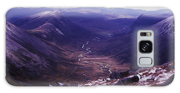 The Lairig Ghru - Cairngorm Mountains - Scotland Galaxy Case