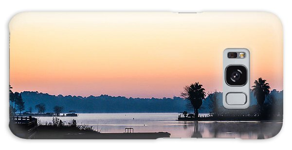 The Lake Before Sunrise Galaxy Case