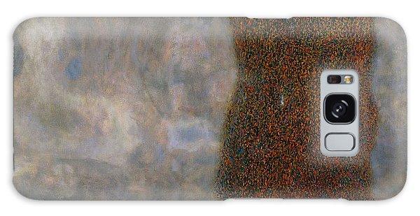 Strange Clouds Galaxy Case - The Large Poplar II Gathering Storm by Gustav Klimt