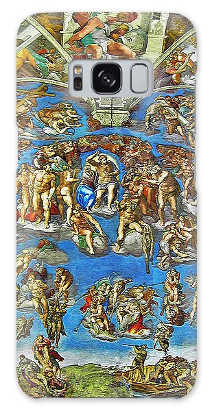 The Last Judgement Galaxy Case by Michelangelo