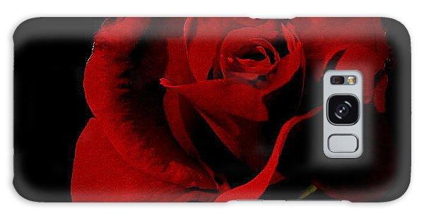The Last Rose Of  Summer... Galaxy Case by Marija Djedovic