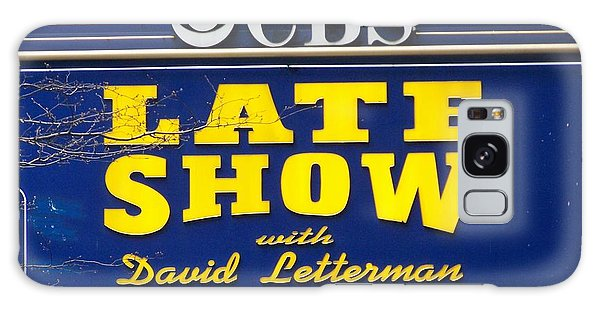 The Late Show With David Letterman Galaxy Case by Kenneth Summers