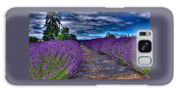 The Lavender Field Galaxy Case