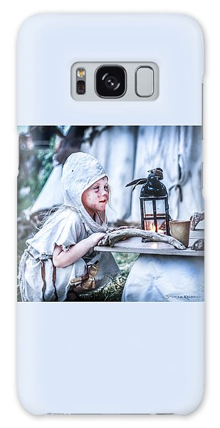 Galaxy Case featuring the photograph The Leprosy Child And The Healing Lantern by Stwayne Keubrick