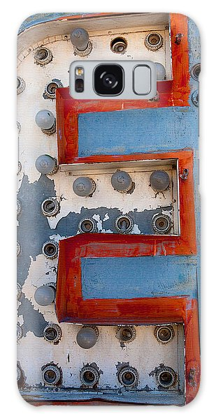 Rustic Galaxy Case - The Letter E by Art Block Collections