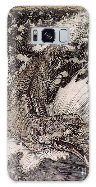 Beast Galaxy Case - The Leviathan by Arthur Rackham