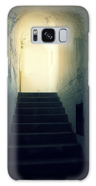 The Light At The Top Of The Stairs Galaxy Case