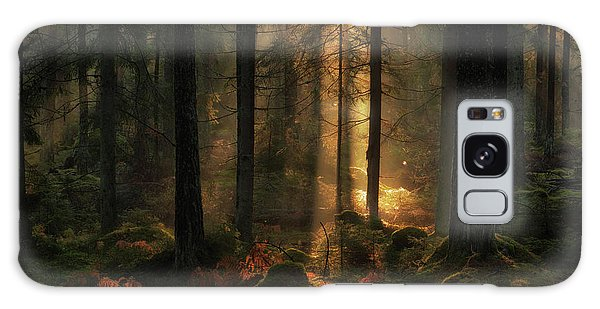 Sweden Galaxy Case - The Light In The Forest by Allan Wallberg