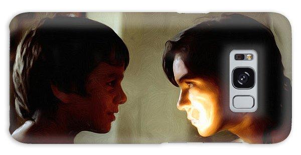 The Light In Their Eyes Galaxy Case by Spyder Webb