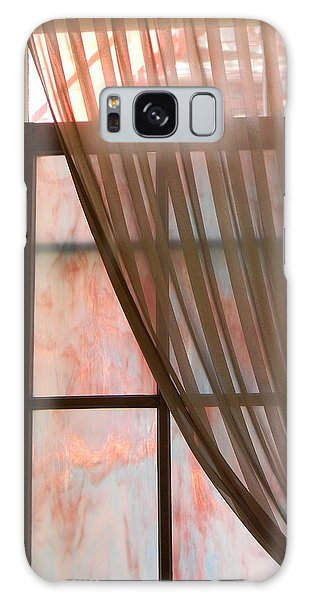 The Light Through The Window Galaxy Case by Jean Goodwin Brooks