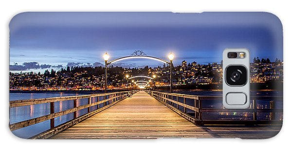 The Lights Of White Rock Beach - By Sabine Edrissi Galaxy Case by Sabine Edrissi