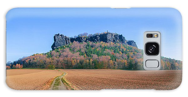 The Lilienstein On An Autumn Morning Galaxy Case