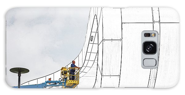 Creative Galaxy Case - The Line Tracker. by Henk Van Maastricht