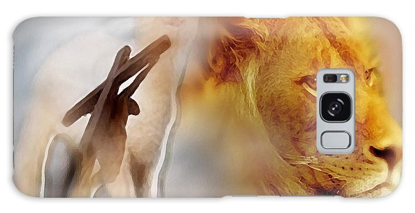 The Lion And The Lamb Galaxy Case