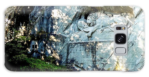 The Lion Monument In Lucerne Switzerland Galaxy Case