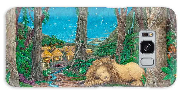 The Lion Sleeps Tonight ... Galaxy Case