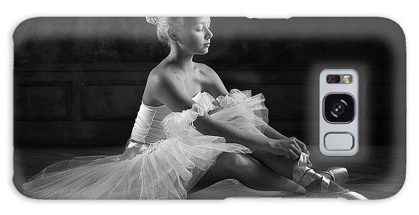 Ballerina Galaxy Case - The Little Ballerina 1 by Victoria Ivanova