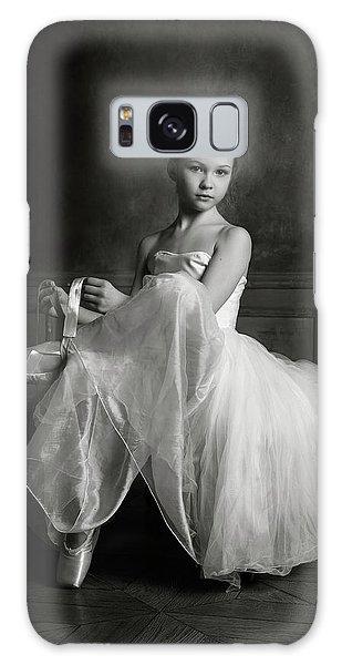 Ballerina Galaxy Case - The Little Ballet Dancer by Victoria Ivanova
