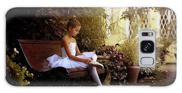 Ballerina Galaxy Case - The Little Dancer by Victoria Ivanova