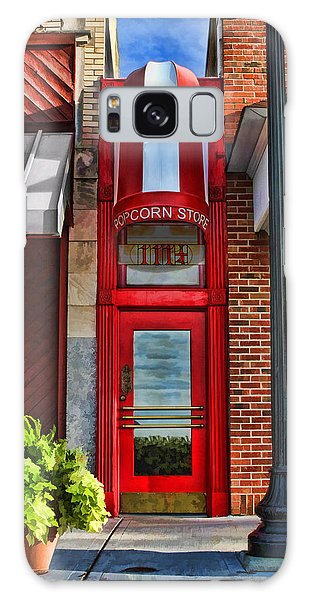 The Little Popcorn Shop In Wheaton Galaxy Case