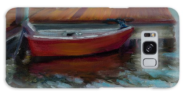 Galaxy Case - The Little Red Boat by Jane Woodward