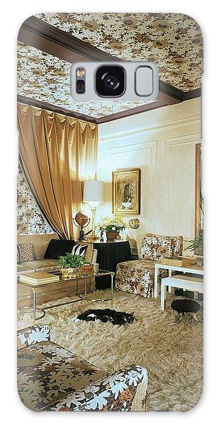 The Living Room Of Leoda De Mar's Home Galaxy Case