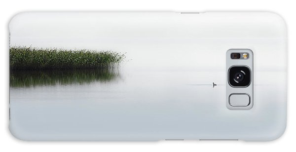 Minimalism Galaxy Case - The Lone Fisher by Bjorn Emanuelson