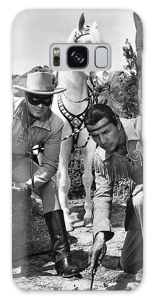Clayton Galaxy Case - The Lone Ranger And Tonto by Underwood Archives