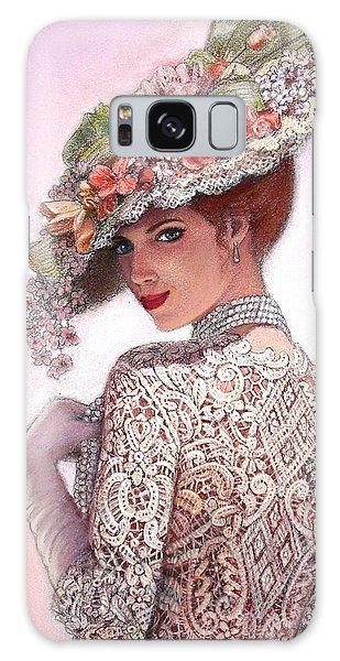 The Look Of Love Galaxy Case by Sue Halstenberg