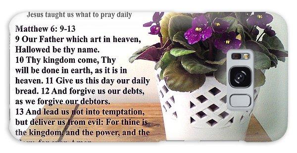 The Lords Prayer Galaxy Case