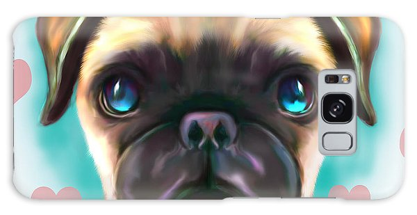 The Love Pug Galaxy Case