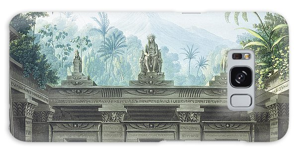 Egypt Galaxy Case - The Magic Flute by Karl Friedrich Schinkel