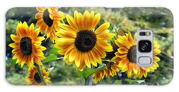 The Magic Of Sunflower Power Galaxy Case