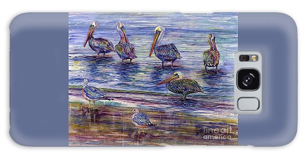 The Majestic Pelican Visit Galaxy Case