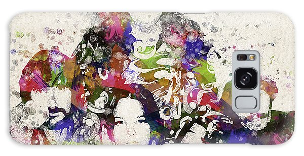 Sixties Galaxy Case - The Mamas And The Papas by Aged Pixel