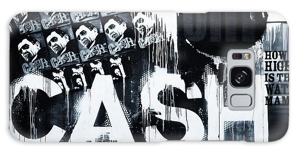 Johnny Cash Galaxy S8 Case - The Man In Black by Dan Sproul
