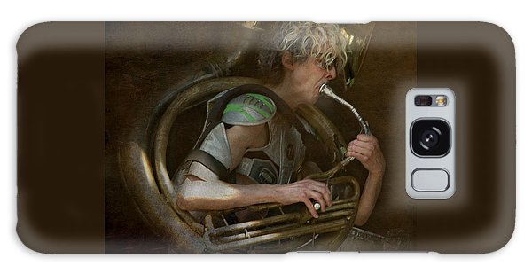 The Man - The Tuba Galaxy Case by Jeff Burgess