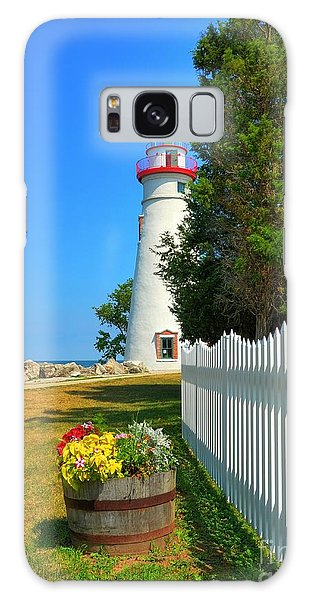 The Marblehead Lighthouse Galaxy Case