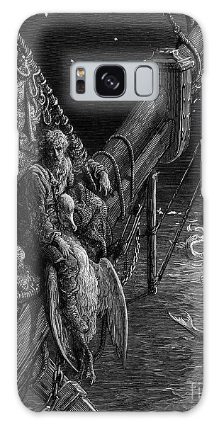 Albatross Galaxy Case - The Mariner Gazes On The Serpents In The Ocean by Gustave Dore