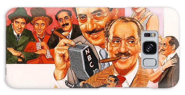 Brothers Galaxy Case - The Marx Brothers by Dick Bobnick