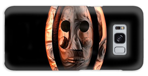The Mask Series 1 Galaxy Case by Jacqueline Lloyd