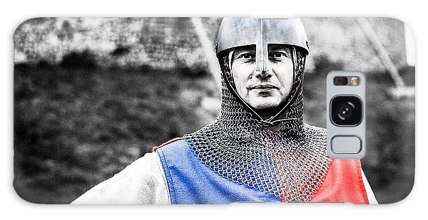 Galaxy Case featuring the photograph The Medieval Warrior by Stwayne Keubrick