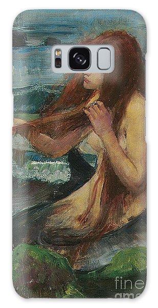 The Mermaid Galaxy Case by John William Waterhouse