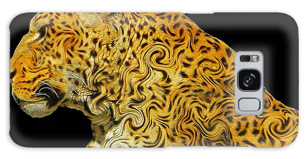 The Mighty Panthera Pardus Galaxy Case