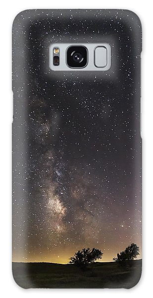 The Milky Way And Dark Kansas Skies Galaxy Case
