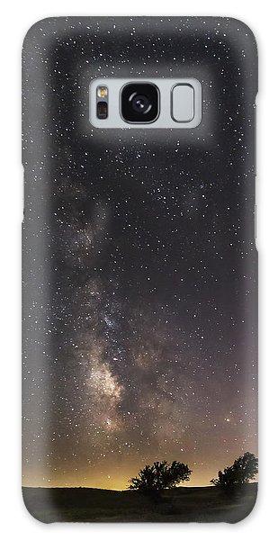 The Milky Way And Dark Kansas Skies Galaxy Case
